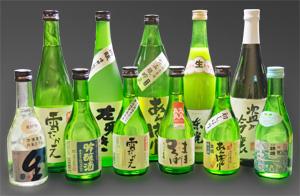日本酒は16種類以上ご用意しております